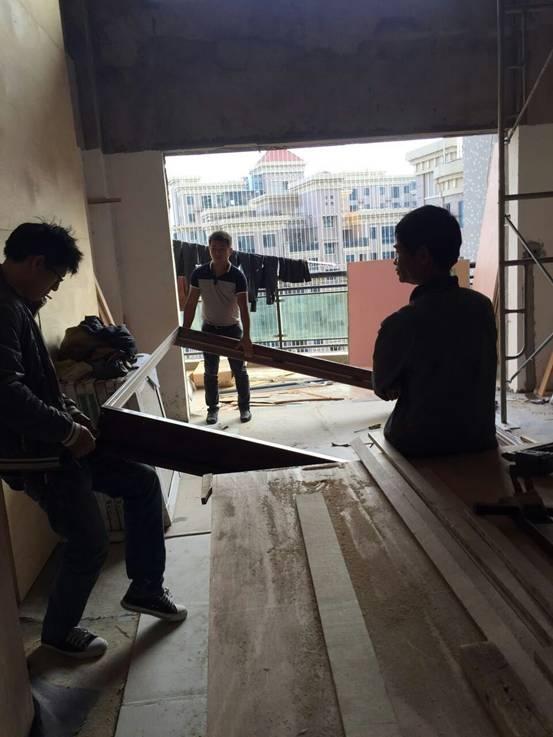 木作现场施工