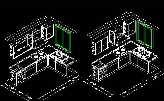 CAD绘图施工图作品 CAD室内设计施工图作品